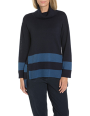 Yarra Trail - Banded Stripe Relaxed Knit