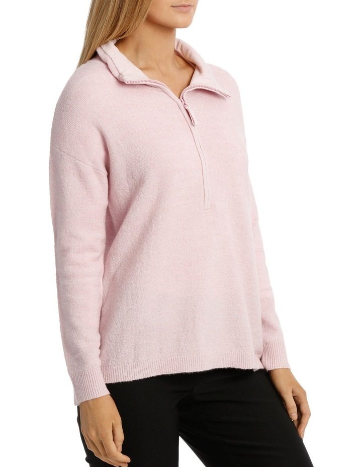 Zip Neck Jumper image 2