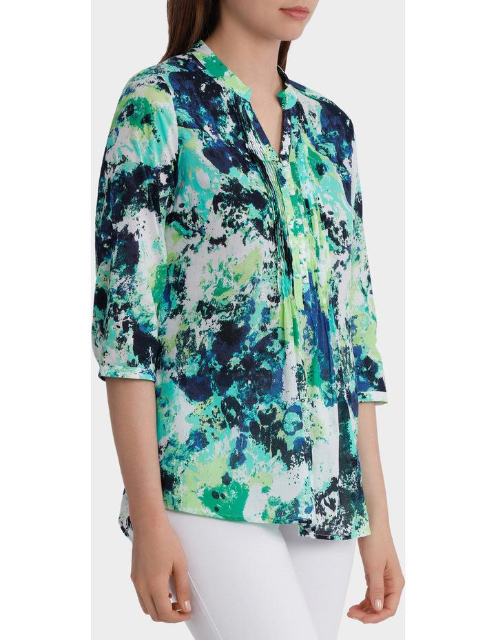 3/4 Sleeve Floral Print Shirt image 2