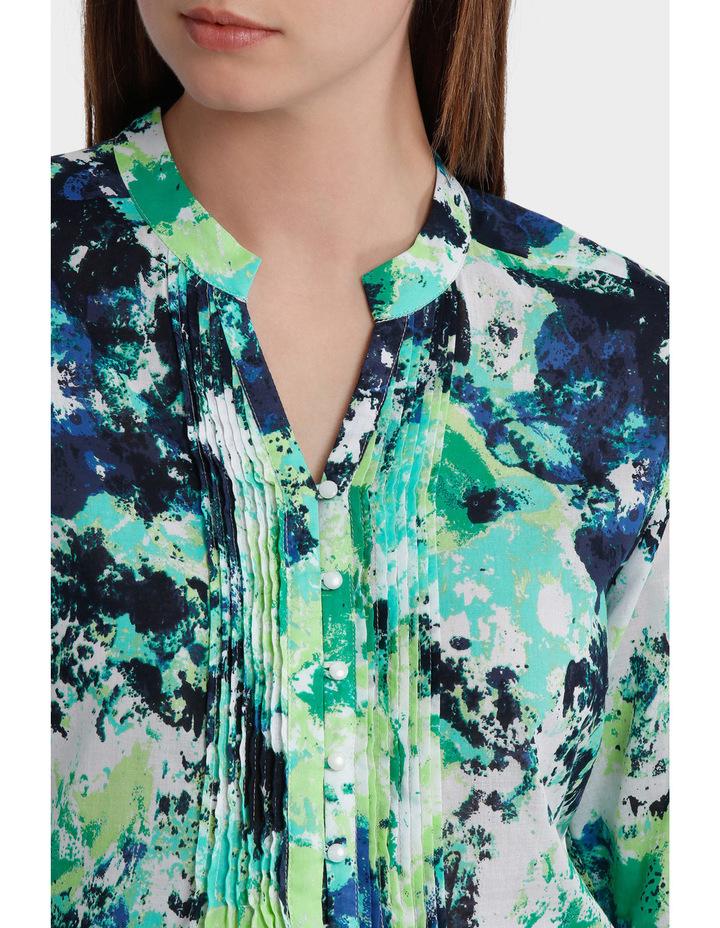 3/4 Sleeve Floral Print Shirt image 4