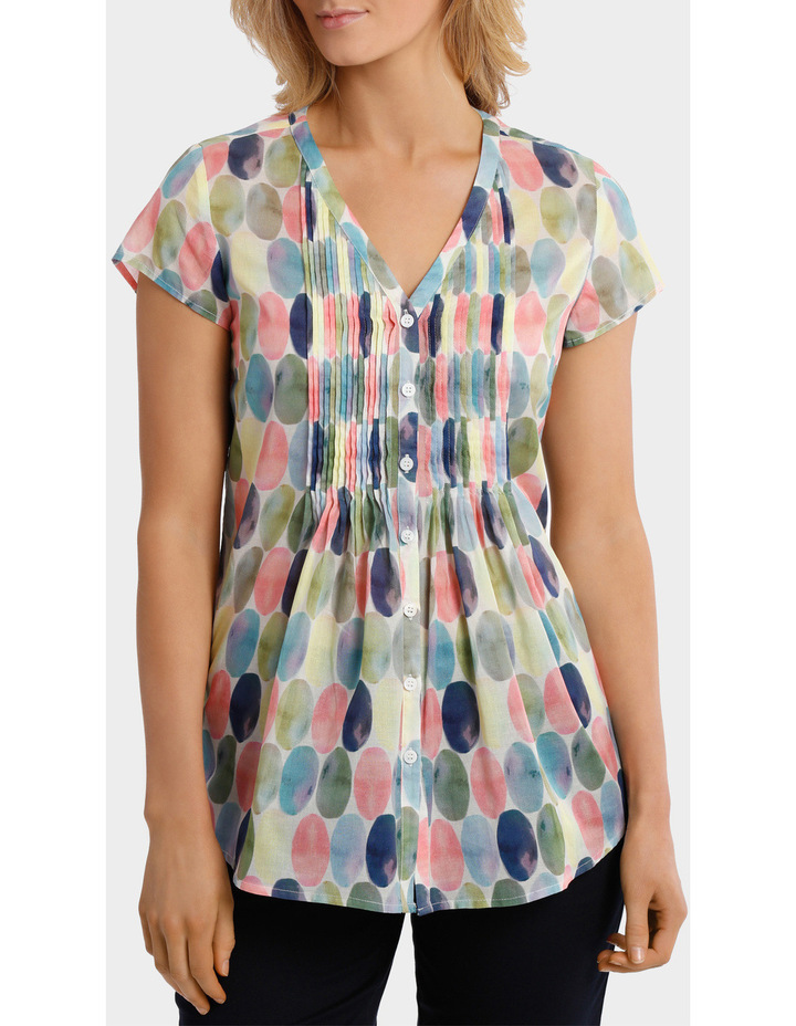 Soft Spot Print Shirt image 1