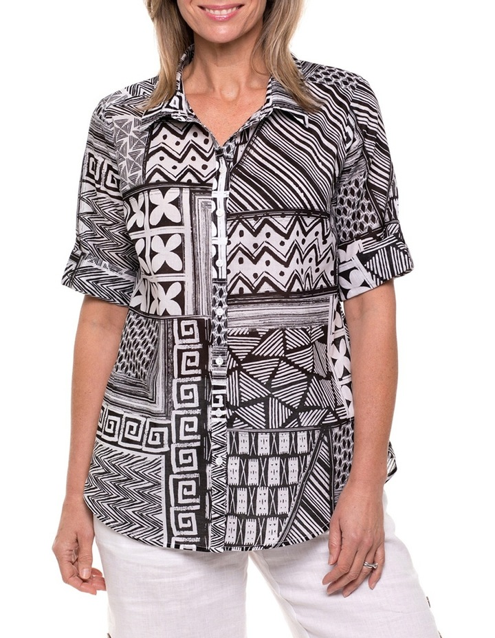 Montage Print Shirt image 1