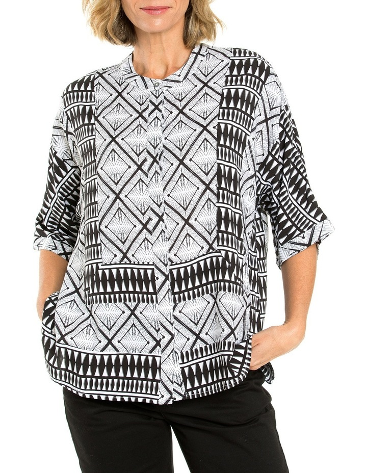 Aztec Print Top image 1