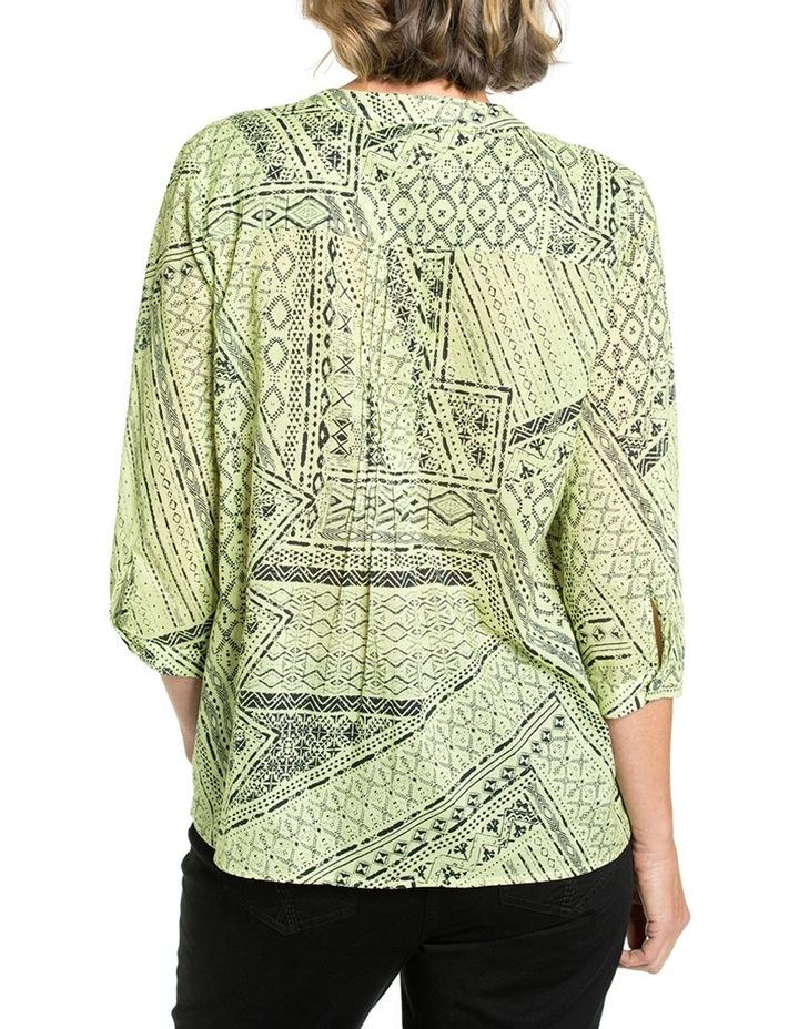 3/4 Sleeve Pintuck Shirt image 2
