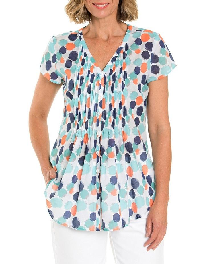 Shortsleeve Blended Spot Print Shirt image 1