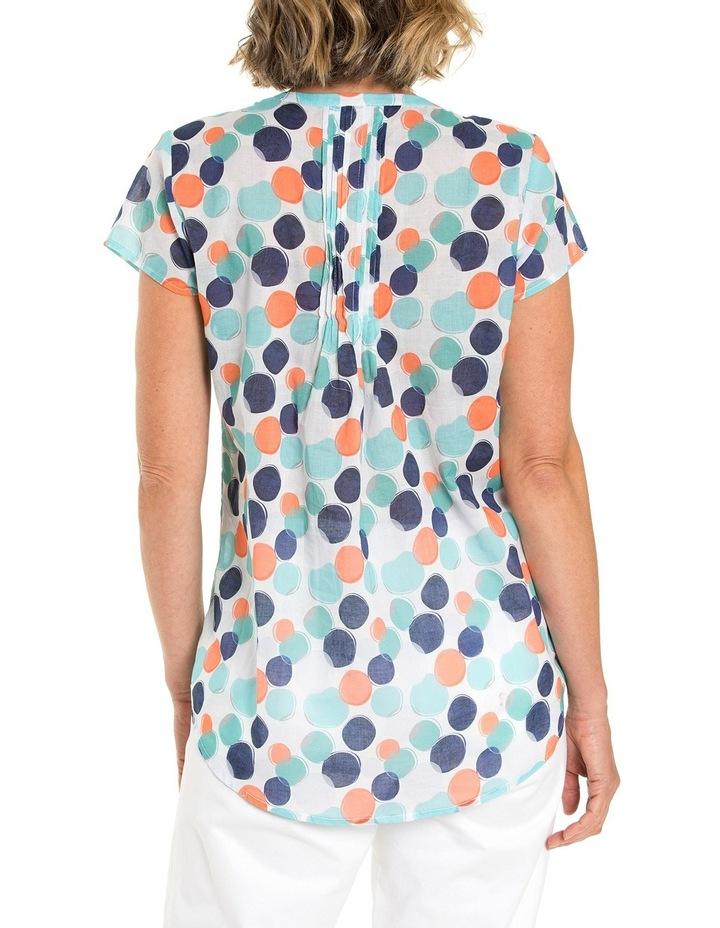 Shortsleeve Blended Spot Print Shirt image 2