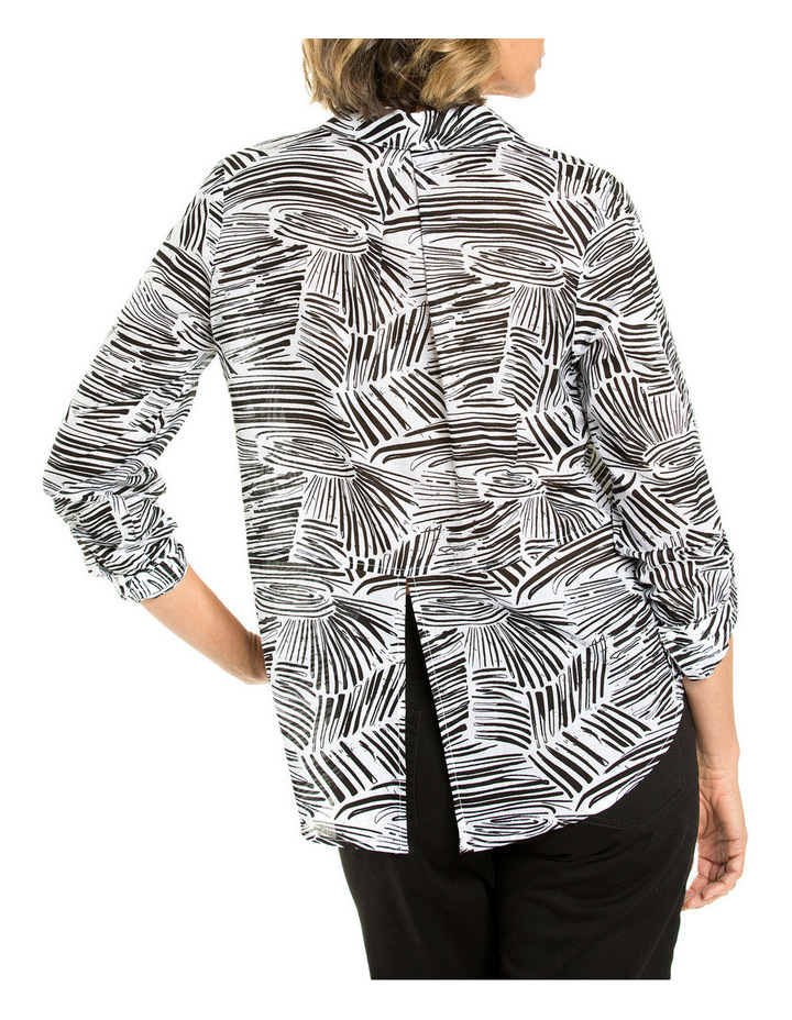 Longsleeved Wave Print Shirt image 2