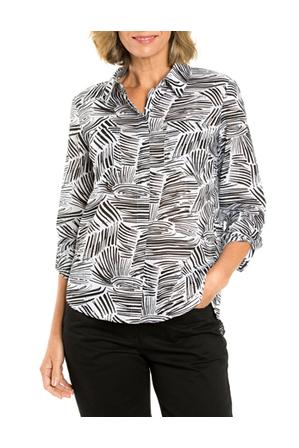 Yarra Trail - Longsleeved Wave Print Shirt
