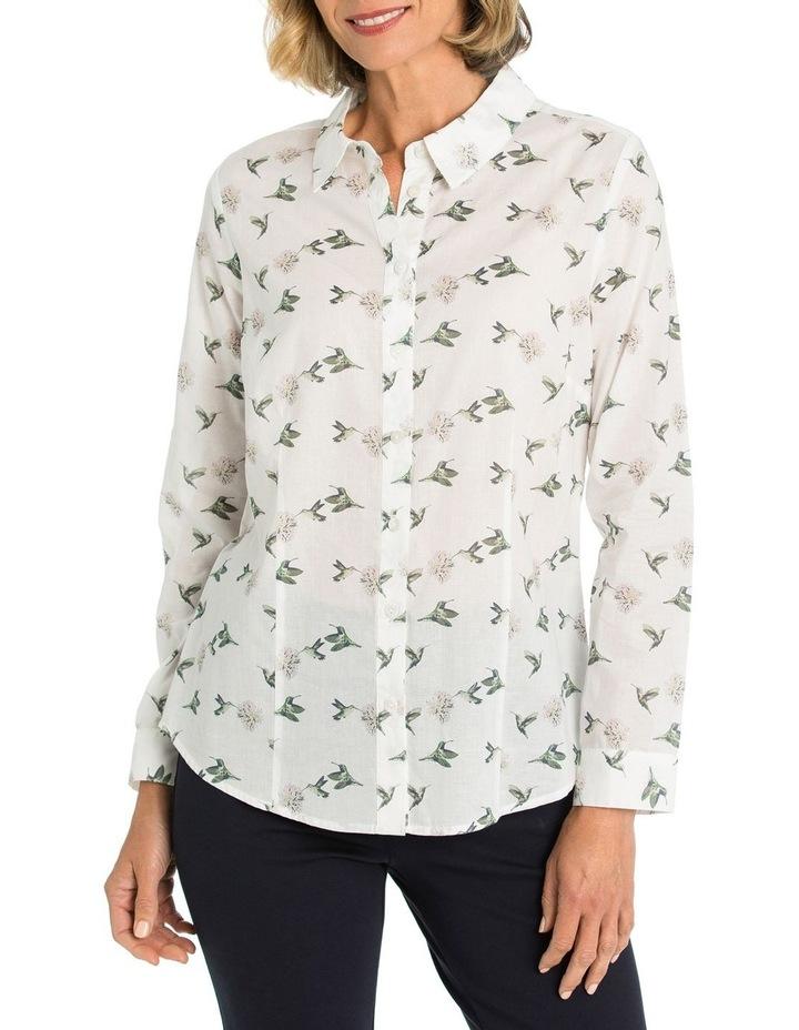 L/S Bird Print Shirt image 1