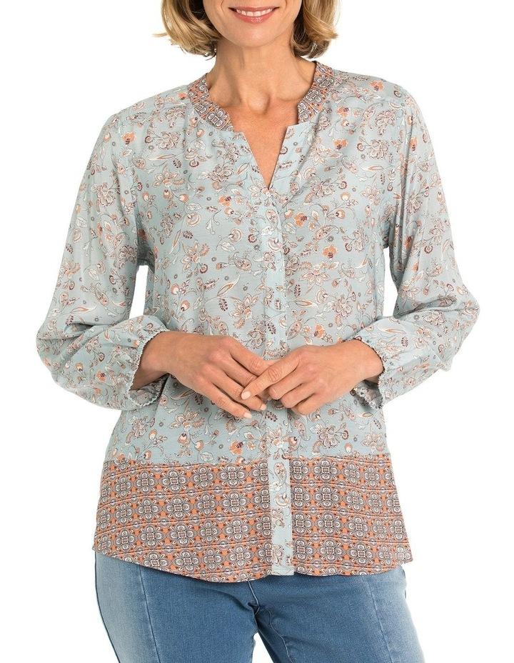 Vine Panel Print Shirt image 1
