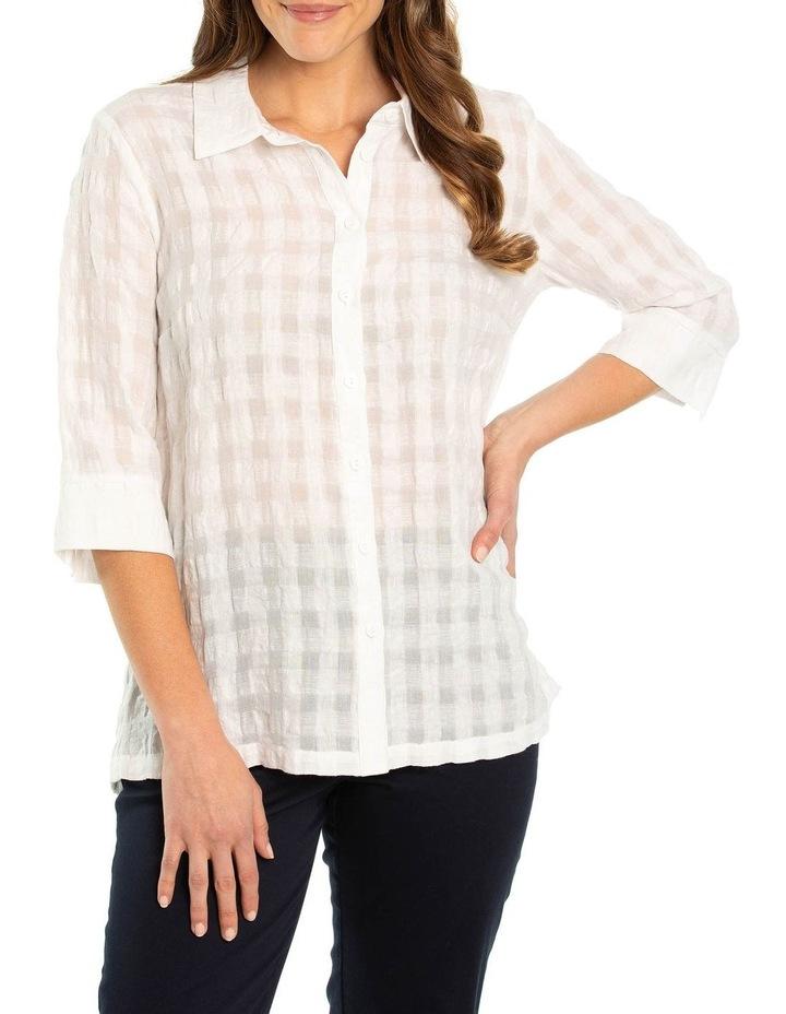 Textured Linen Shirt image 1