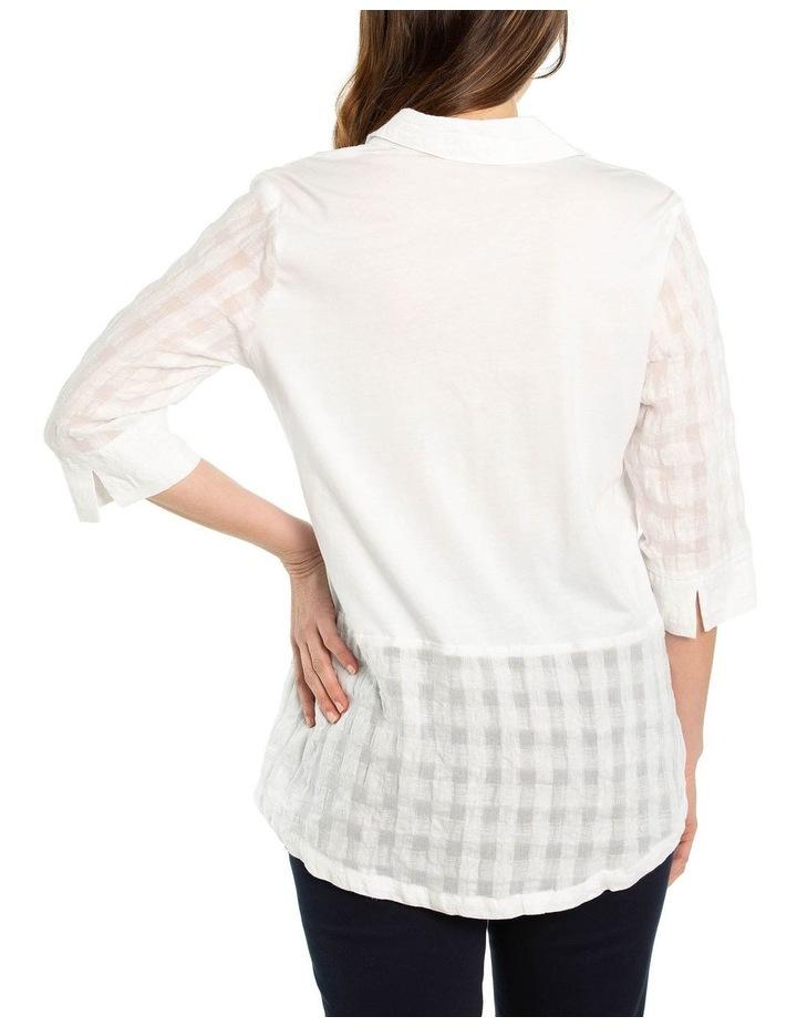 Textured Linen Shirt image 2