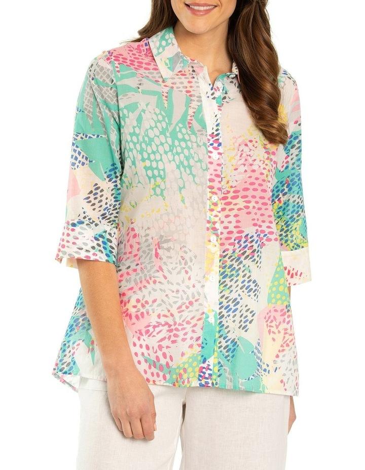 Pixel Print Shirt image 1