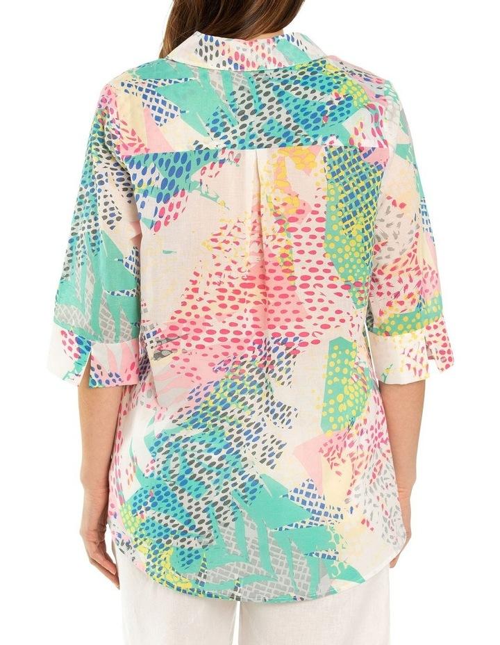 Pixel Print Shirt image 2