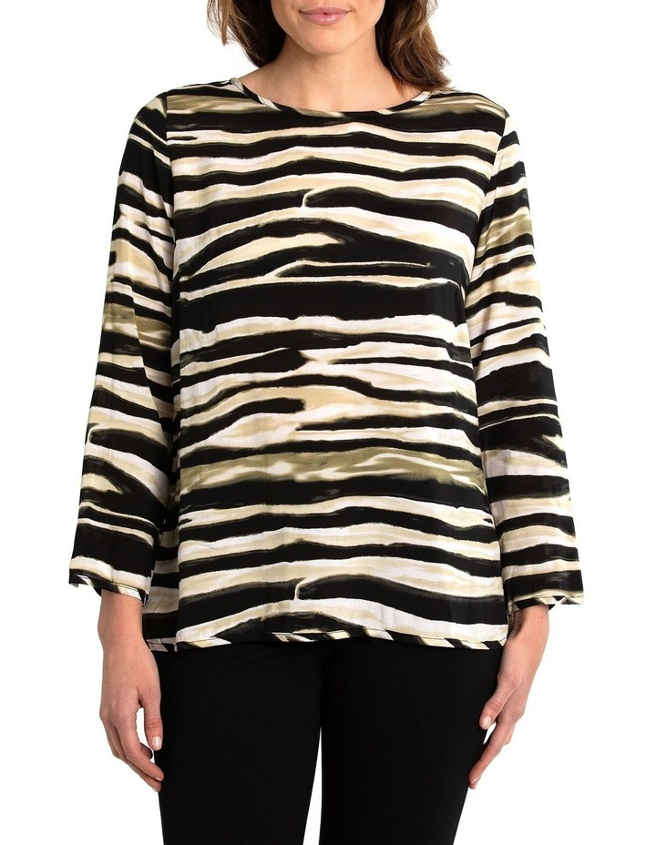 Zebra Print Shirt image 1