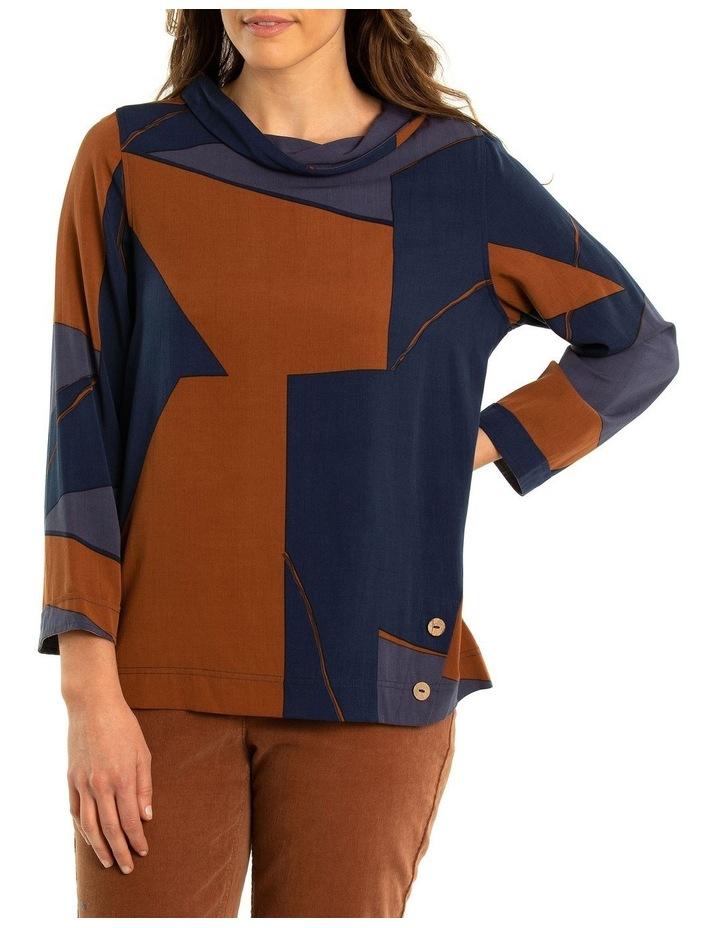 Angles Print Shirt image 1