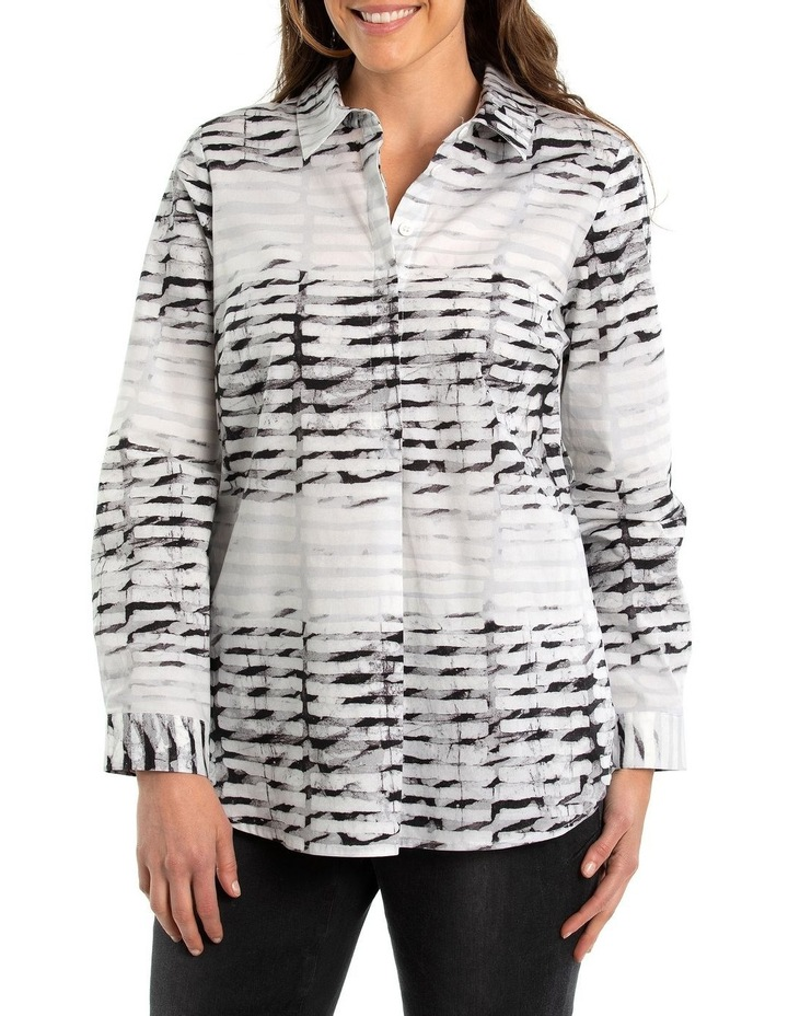 Marble Print Shirt image 1
