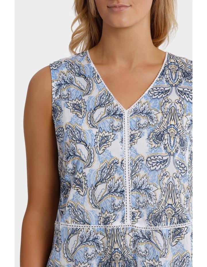 Sleeveless Florentine Print Dress image 4