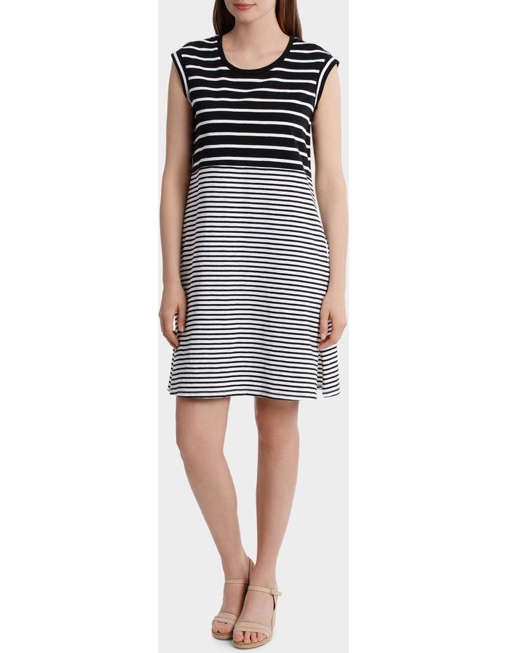 Two Stripe Jersey Dress image 1