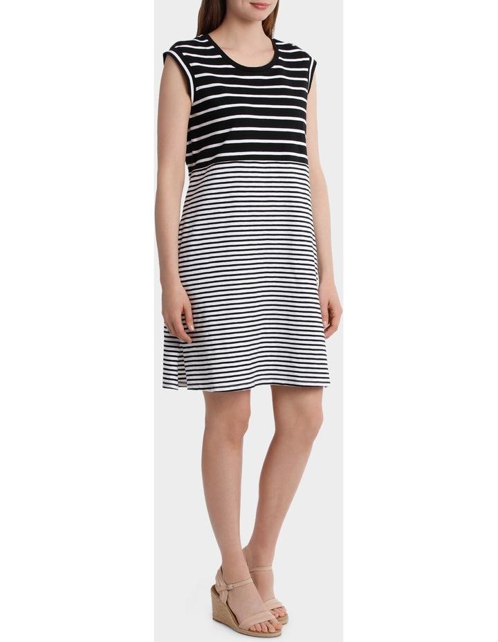 Two Stripe Jersey Dress image 2