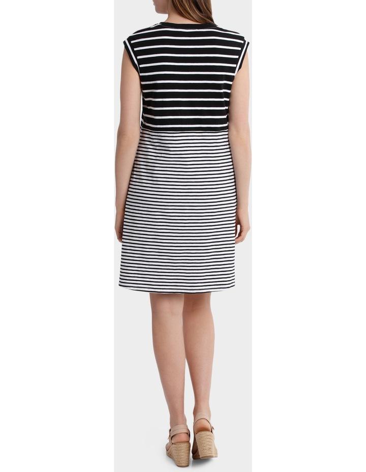 Two Stripe Jersey Dress image 3