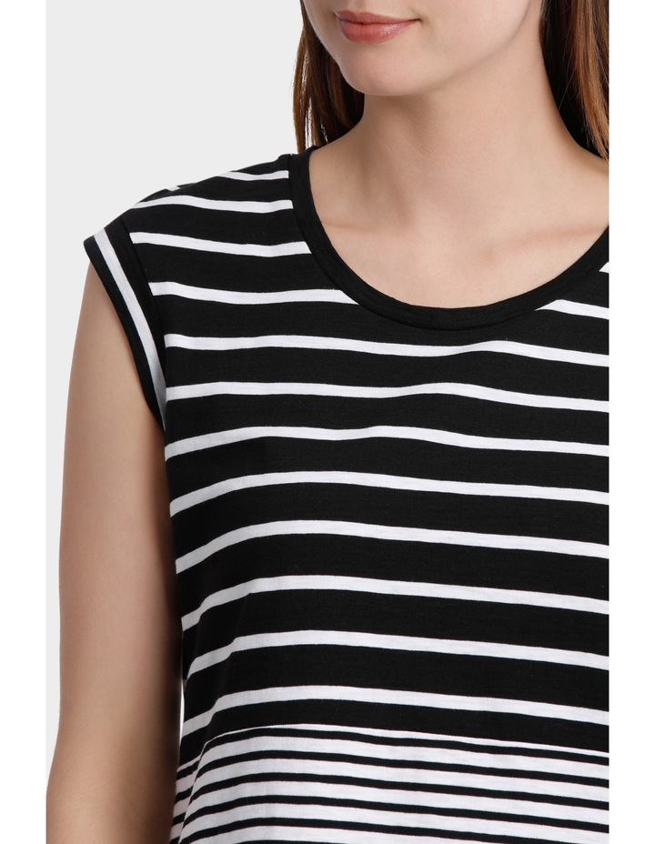 Two Stripe Jersey Dress image 4