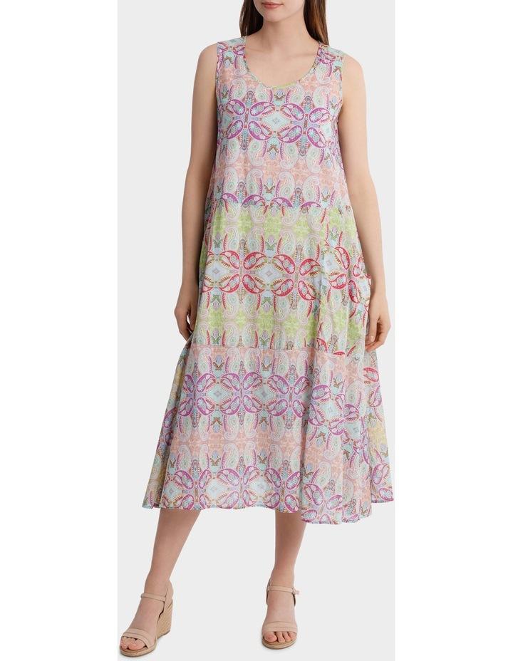 Paisley Print Dress image 1