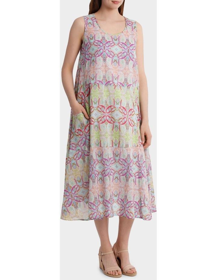 Paisley Print Dress image 2