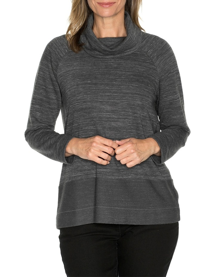 Roll Neck Marle Top image 1