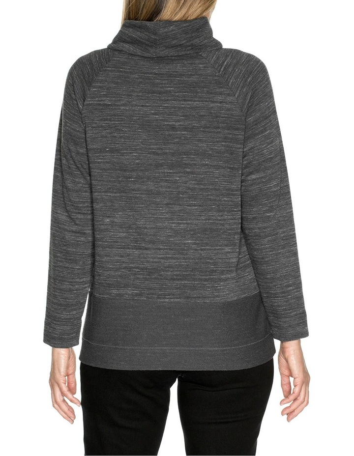 Roll Neck Marle Top image 2