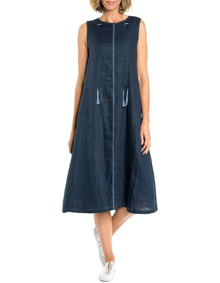 Sleeveless Drawstring Cord Dress image 1