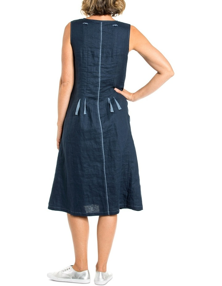 Sleeveless Drawstring Cord Dress image 2