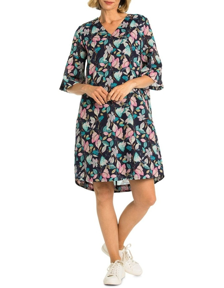 Leaf Print Dress image 1
