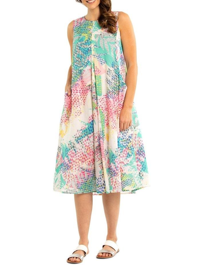 Pixel Print Dress image 1
