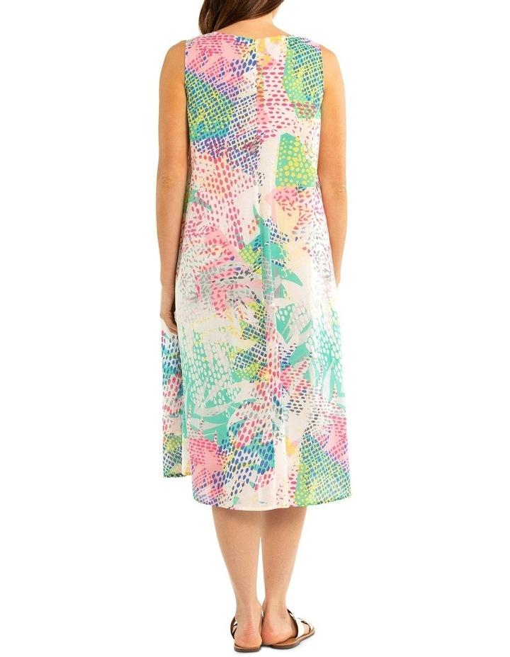 Pixel Print Dress image 2