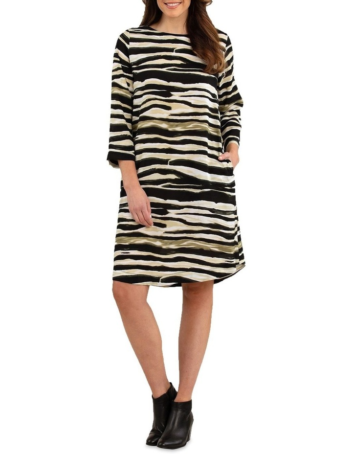 Zebra Print Dress image 1