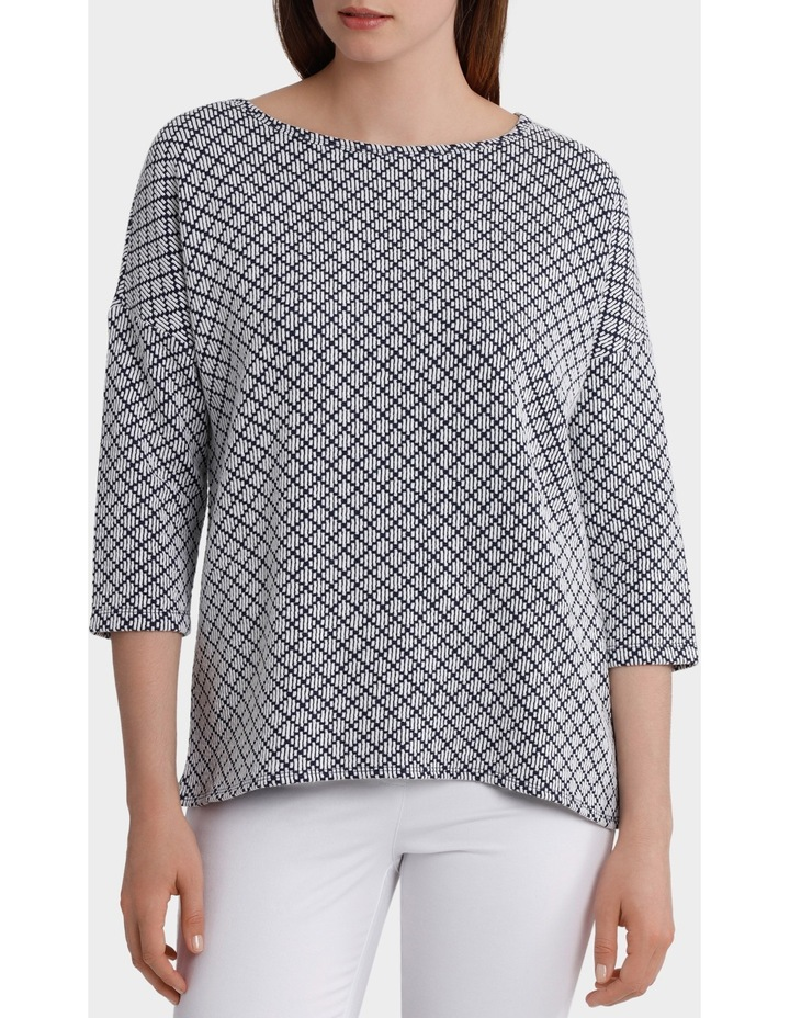 Lattice Jacquard Top image 1