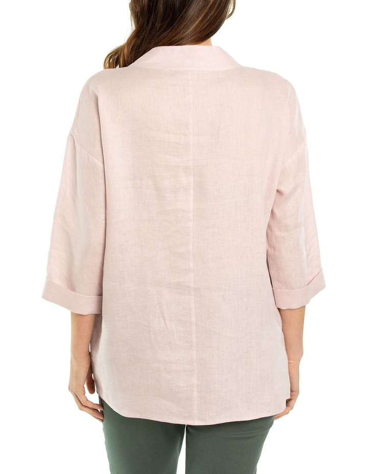 3/4 Sleeve Funnel Neck Top image 2