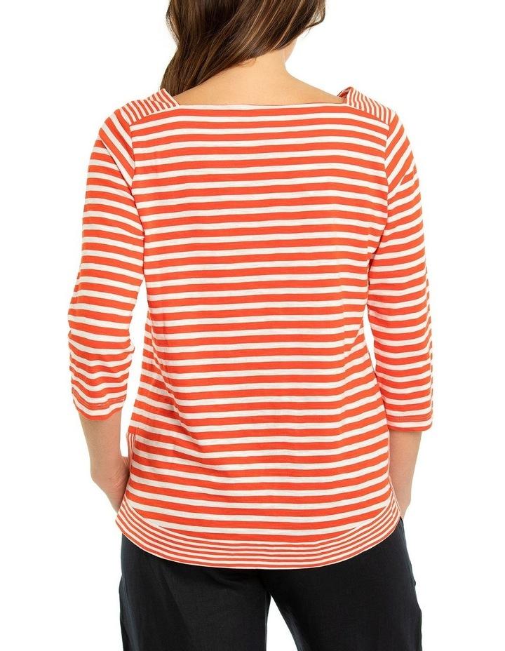 3/4 Sleeve Stripe Tee image 2