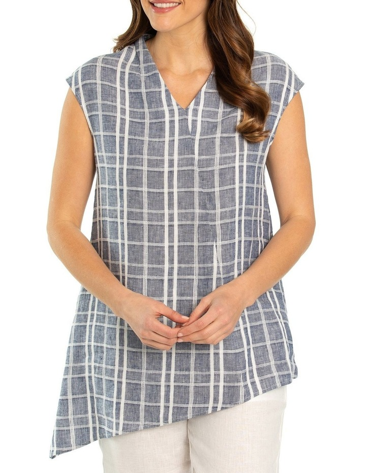 Check Linen Tunic image 1