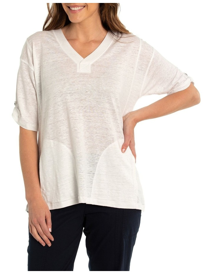 V-Neck Relaxed Tee image 1