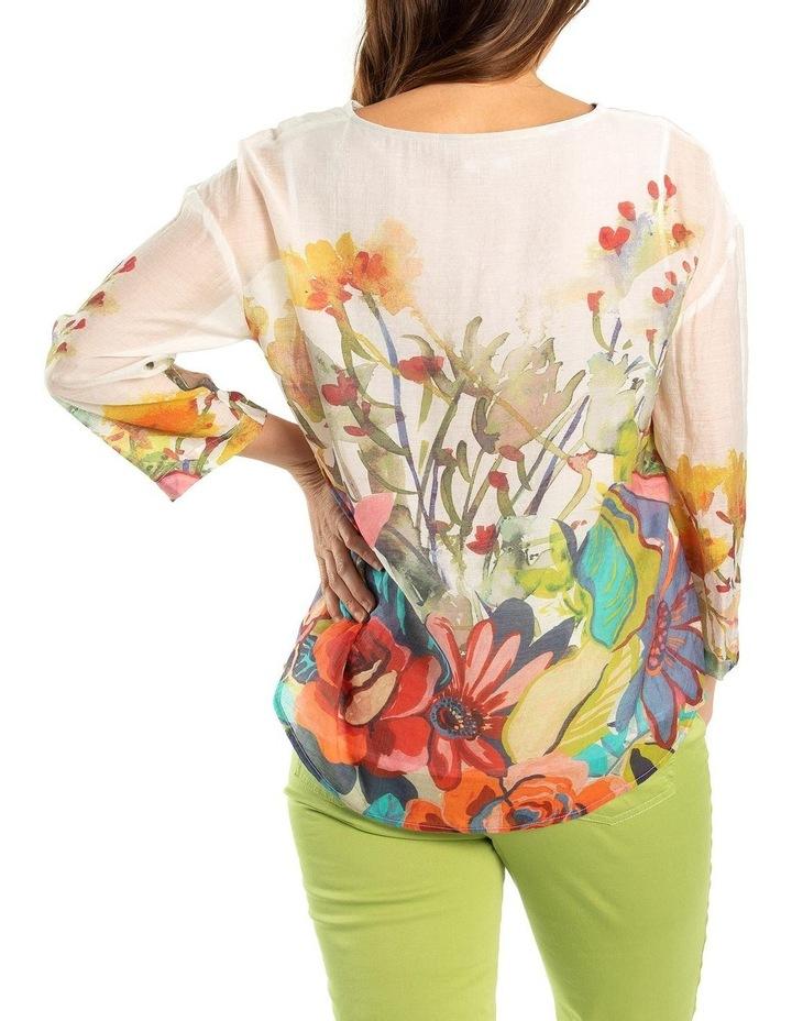 Foliage Print Overshirt image 2