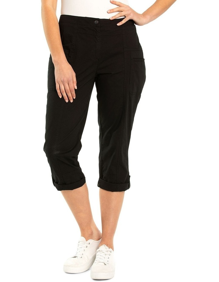Panelled Washer Cotton Pant image 1