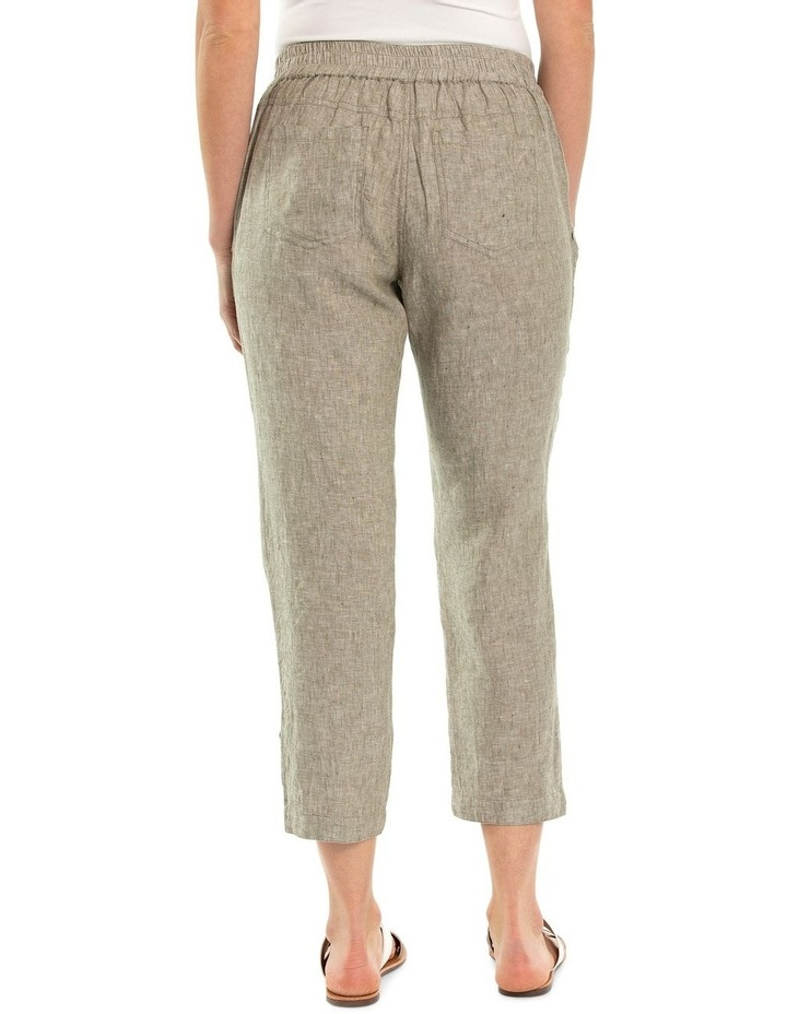 Relaxed Crossdye Linen Pant image 2