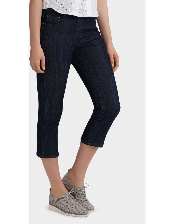 3/4 Pull On Jean image 2