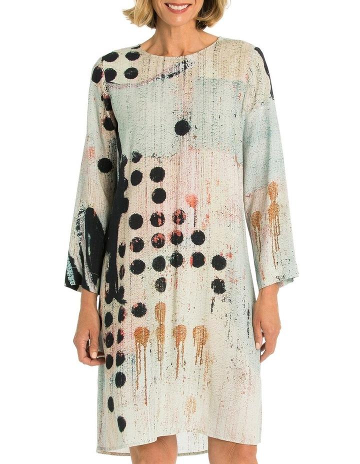 Domino Print Dress image 1