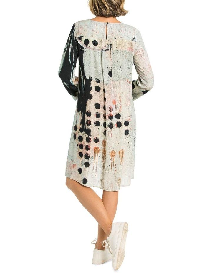 Domino Print Dress image 2