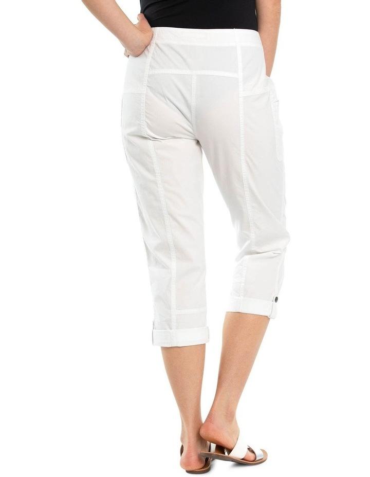Panelled Washer Cotton Pant image 2