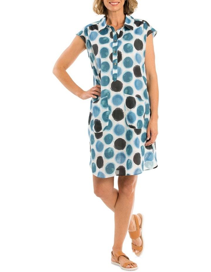 Watercolour Spot Print Dress image 1