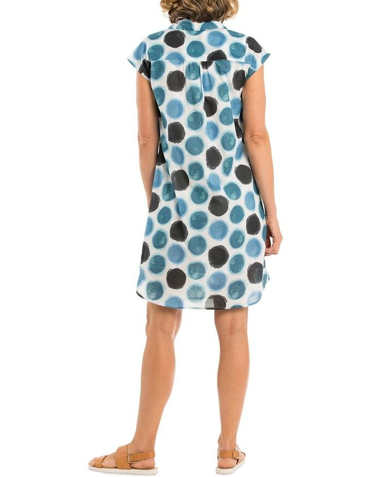 Watercolour Spot Print Dress image 2